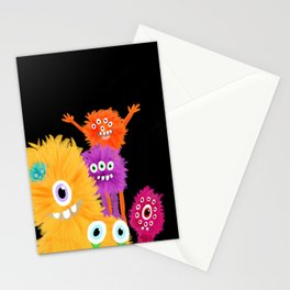 Hooray! Little Monsters Stationery Cards