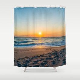 Canaveral National Seashore Sunrise Shower Curtain
