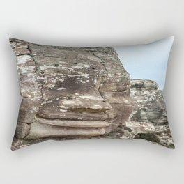 Bayon Temple, Angkor Thom, Cambodia Rectangular Pillow