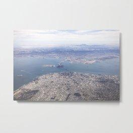 Bay Area Aerials Metal Print