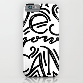 Yes you can quote iPhone Case