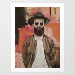 COOL DUDE Art Print
