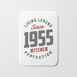 Since 1955 Aged To Perfection Bath Mat