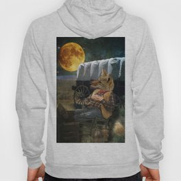 Tom Coyote in Deep Thought Hoody