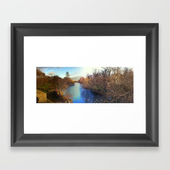 Dream park Framed Art Print