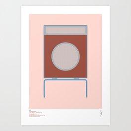 Braun L2 Speaker - Dieter Rams Art Print