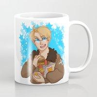 hetalia Mugs featuring Stars by kitkatkatee