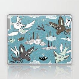 chipegacorn, chihuahua dog + pegasus + unicorn mythical creature! chipegacorn, chihuahua dog + pegas Laptop & iPad Skin