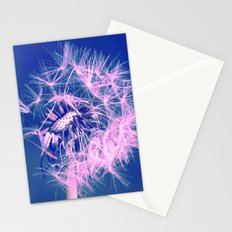 Dandelion Blue Stationery Cards