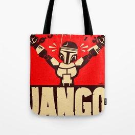 Jango Unchained Tote Bag