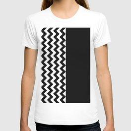 TEXTURE (BLACK-WHITE) T-shirt