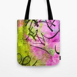 Abstract graffiti texture Tote Bag