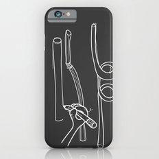 Drawing Straws iPhone 6s Slim Case