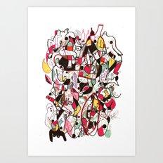des15 Art Print