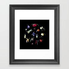 Emerge - Fritilleries Framed Art Print