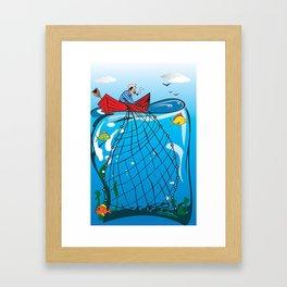 fisher Framed Art Print