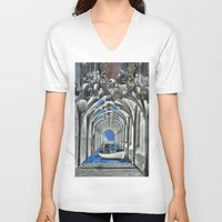 boat V-neck T-shirts featuring Boat by infloence