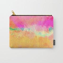 Modern Pastel Rainbow Cascade  Carry-All Pouch