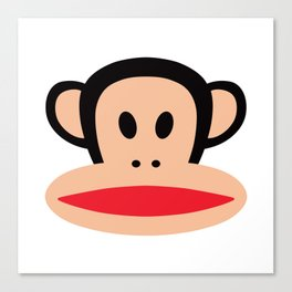 Cute Monkey (Julius Monkey) Canvas Print