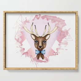 Pink Deer - Ciervo Rosa Serving Tray