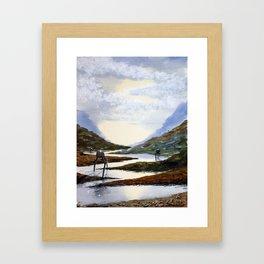 Tripods Framed Art Print