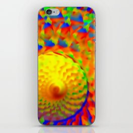Abstract solar winds ... iPhone Skin