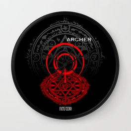 Fate/Zero Archer Wall Clock