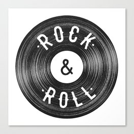 Rock & Roll Canvas Print