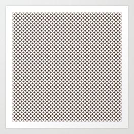 Carafe Polka Dots Art Print