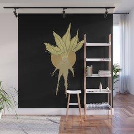 Magical Plant Watercolor Wall Mural