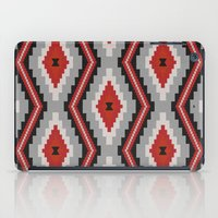 navajo iPad Cases featuring Navajo red by spinL