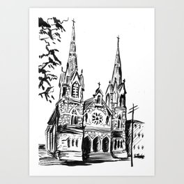 St. Andrew's Pennsylvania Art Print