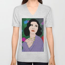 Marina Neon Nature Tour Froot Unisex V-Neck