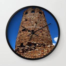 Desert View Watchtower - South Rim Grand Canyon Wall Clock