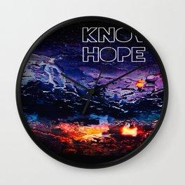 Know Hope Pt. II Wall Clock