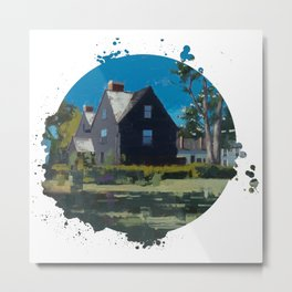House of Seven Gables - Kevin Kusiolek Metal Print