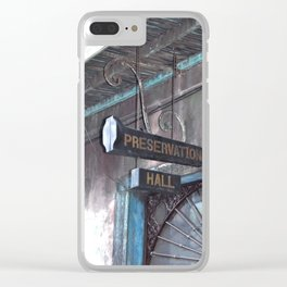 A Music Haven: Preservation Hall Clear iPhone Case