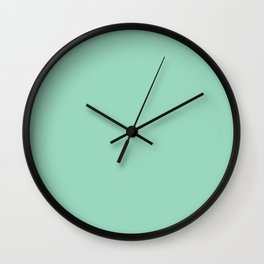 Turquoise Colorful living Wall Clock