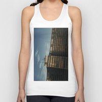 brussels Tank Tops featuring Stockpile by Linas Vaitonis