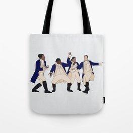Lafayette, Mulligan, Laurens & Ham Tote Bag