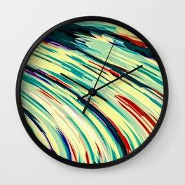 Retro Rush Wall Clock