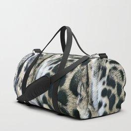 Clouded Leopard Duffle Bag