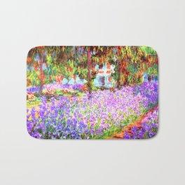 Monets Garden In Giverny Bath Mat