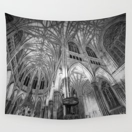 St Patrick's Cathedral New York Art Wall Tapestry