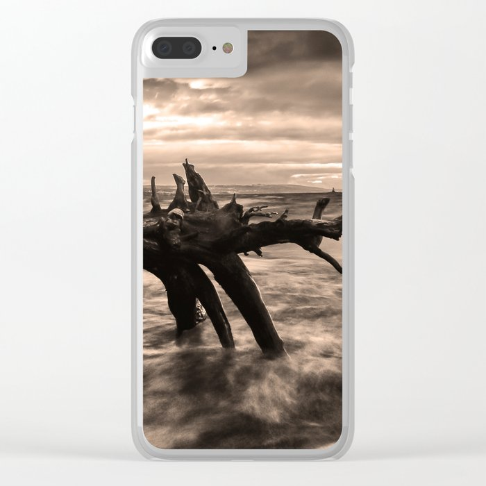 Storm #2 Clear iPhone Case
