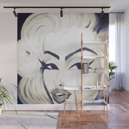 Angel Face Wall Mural