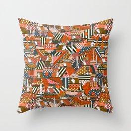 Royal Lads & Ladies Throw Pillow