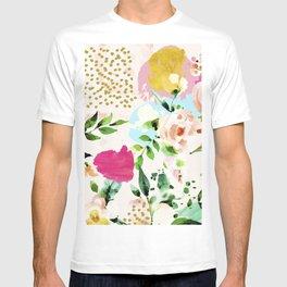 Floral Blush #society6 #decor #buyart T-shirt