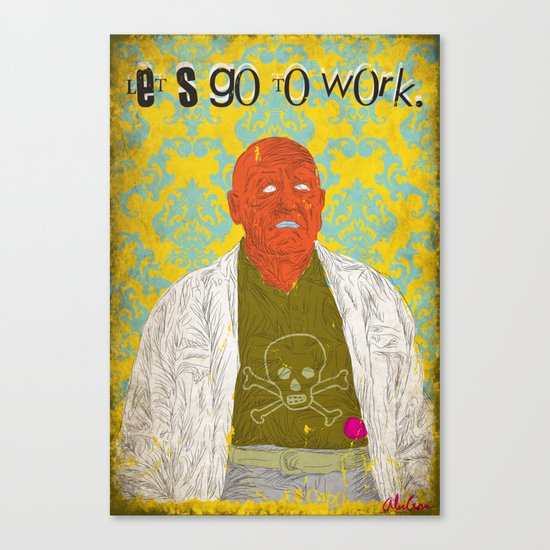 Let's Go To Work Canvas Print