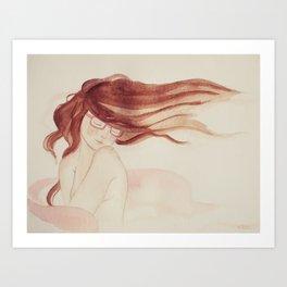 A Gentle Kind of Love Art Print